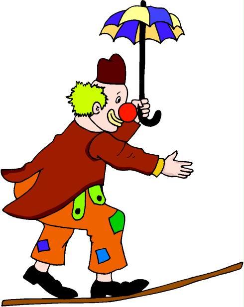 490x617 Clown Clipart Circus Person