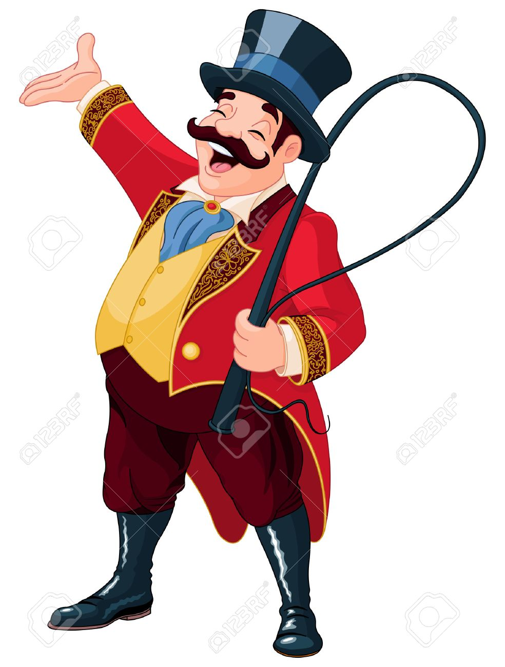 984x1300 Illustration Of Graceful Ringmaster Royalty Free Cliparts, Vectors