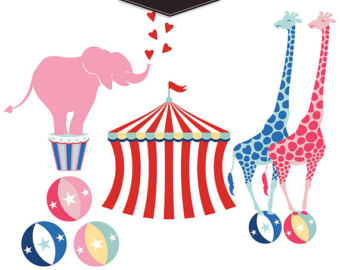 340x270 Carneval Clipart Pink Circus Tent