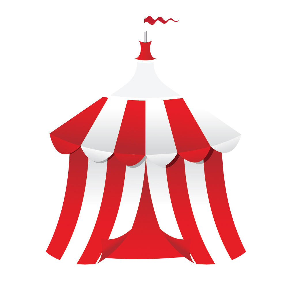 1000x1000 Circus Tent Background Vectorjungle Free Vector Art
