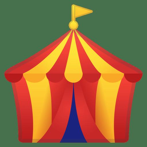 512x512 Circus Tent Clipart