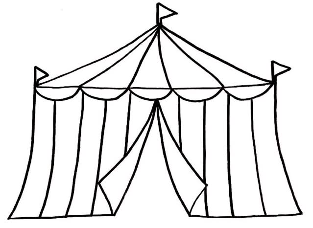 639x466 Circus Clipart Black And White