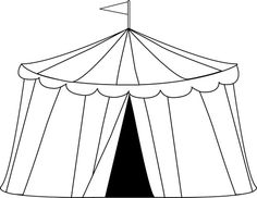 236x182 Circus Theme Tent Decoration Made Out Of Plastic Table Oblong