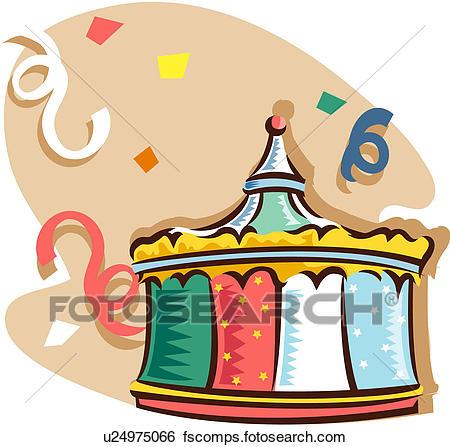 450x447 Clip Art Of Circus Tent U24975066