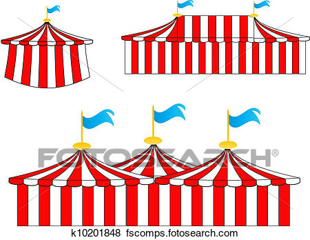 450x348 Clip Art Of Circus Tents K10201848