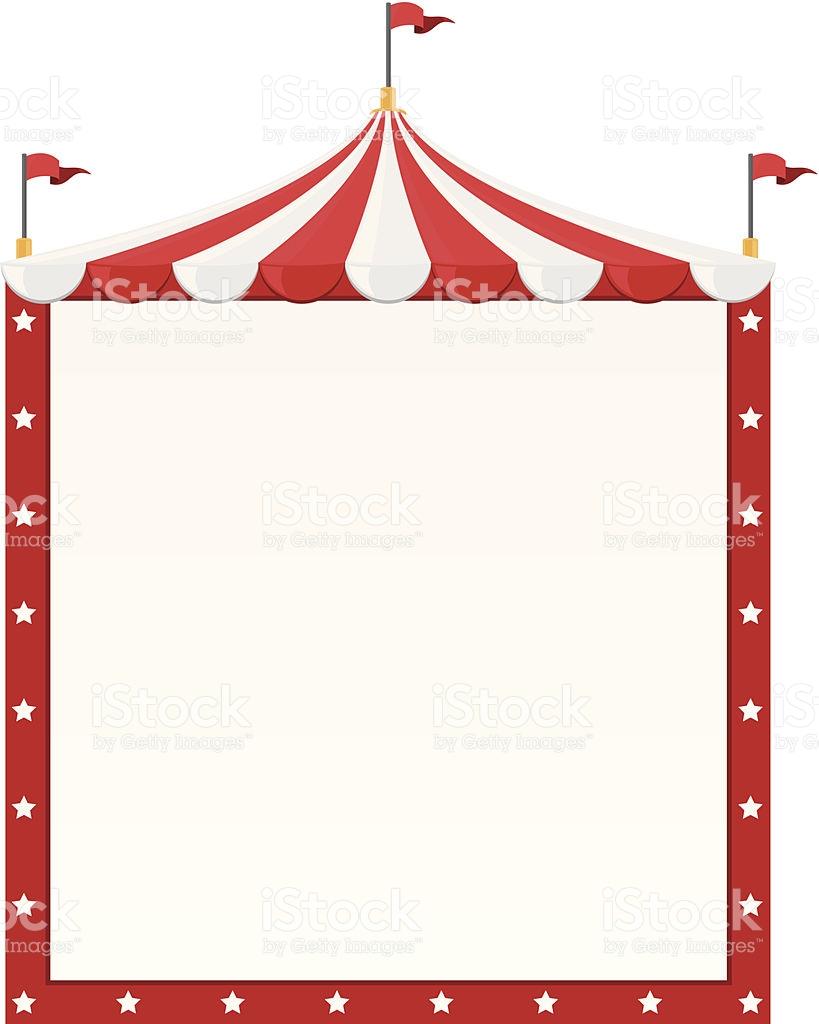 819x1024 Tent Clipart Border