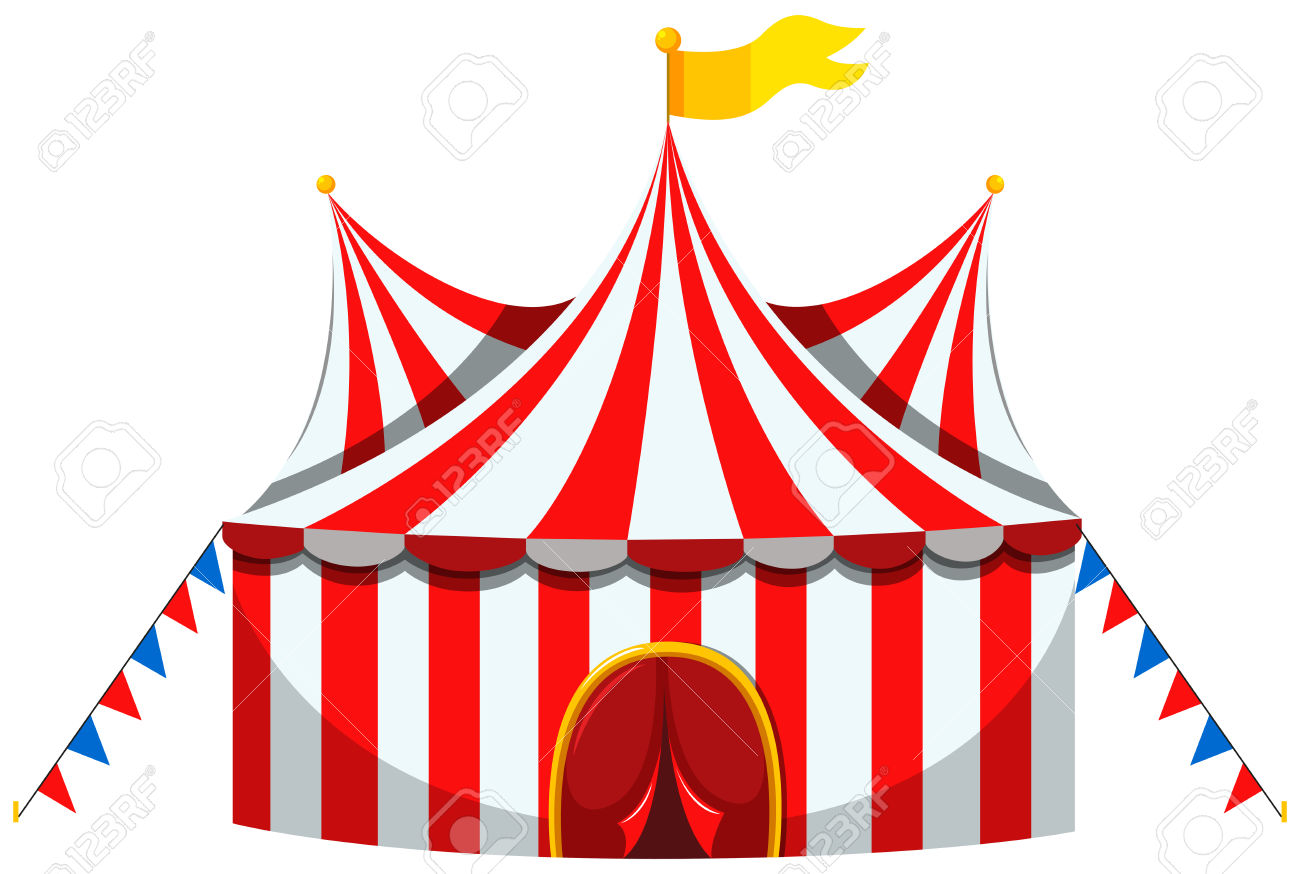 1300x874 Tent Clipart Striped