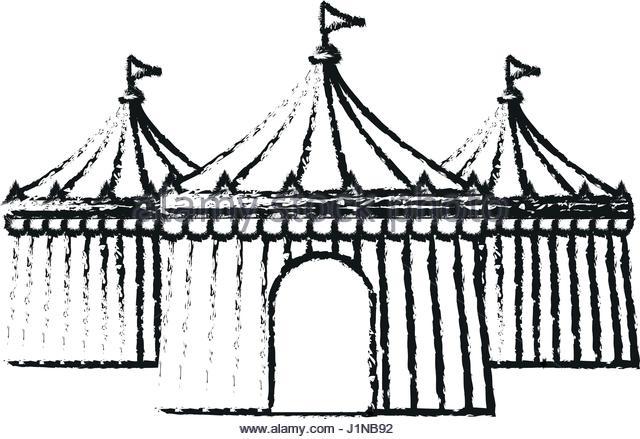 640x439 Circus Tent Striped Stock Photos Amp Circus Tent Striped Stock