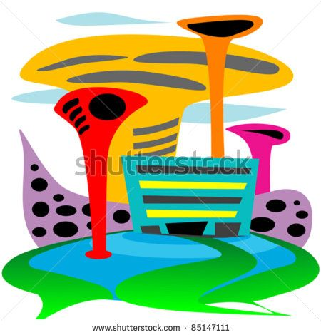 Cities Clipart
