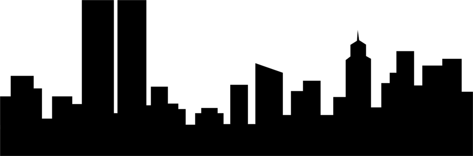 958x316 Image Of City Skyline Clipart