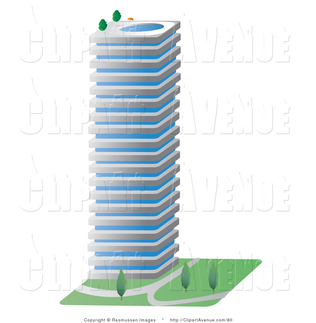 City Building Clipart