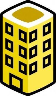 189x326 Cartoon City Building Clip Art Download 1,000 Clip Arts