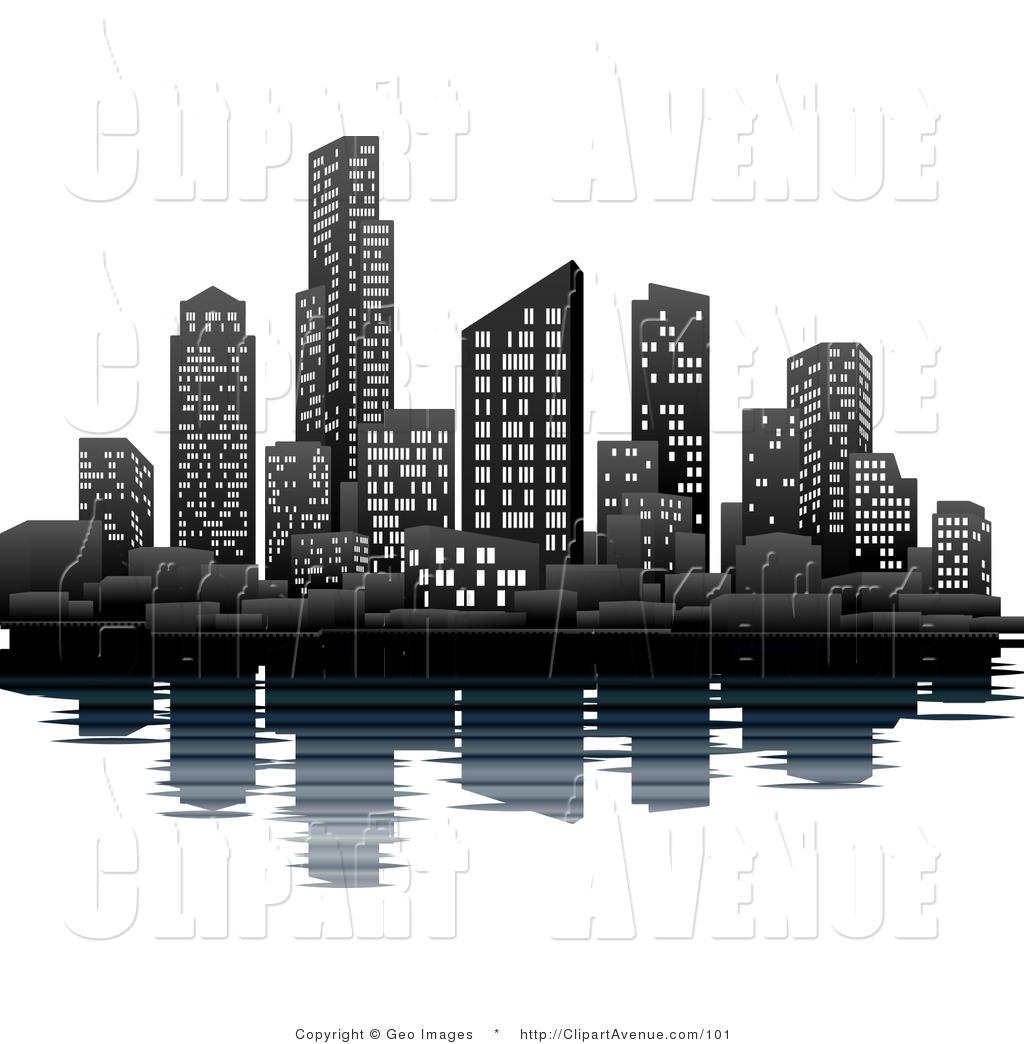 1024x1044 City Clipart