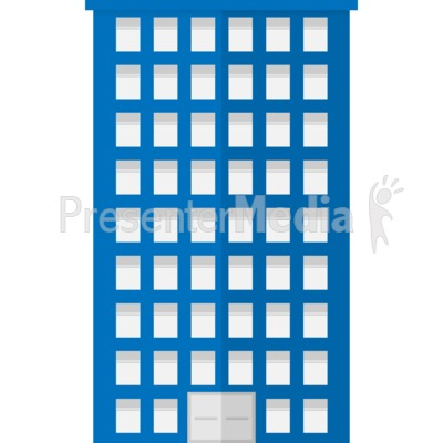 400x400 City Office Building