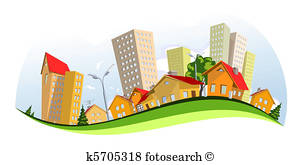 300x165 City Building Clipart And Illustration. 82,494 City Building Clip