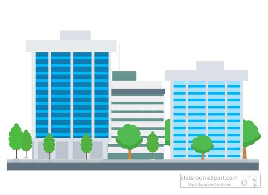 550x400 City Buildings Buildings Clipart 7