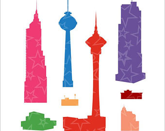 340x270 City Buildings Png Etsy