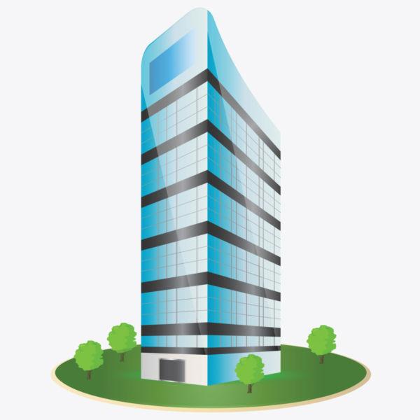 600x600 Building Clipart