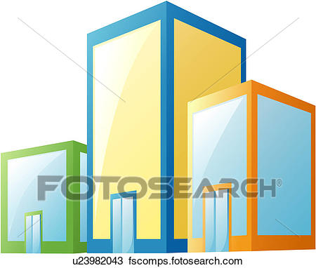 450x382 Clipart Of City, Building, Office, Office Building, Structure