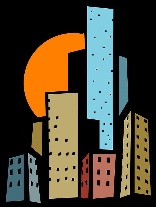 544x720 Urban Clipart City Building