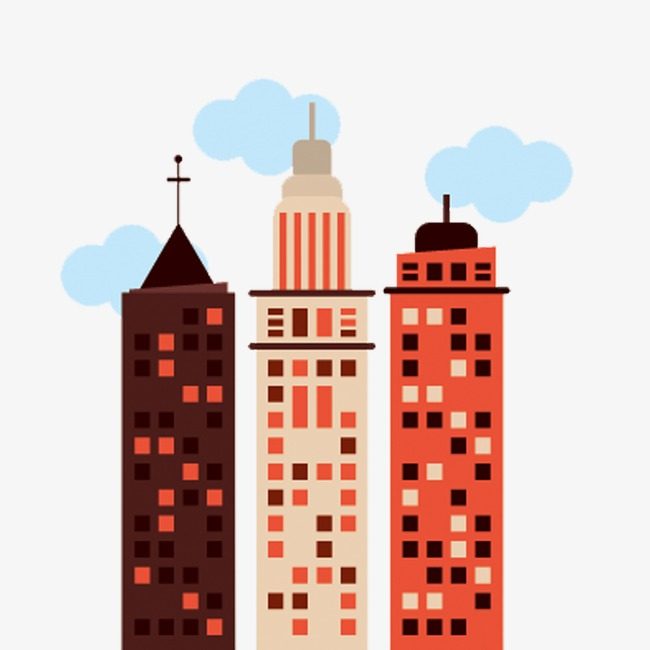 650x650 Flat City, Flat, City, Building Png Image For Free Download