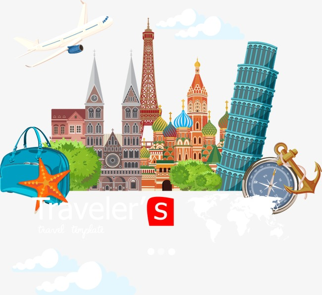 650x596 Vector Russia City Travel, House, City, Building Png And Vector