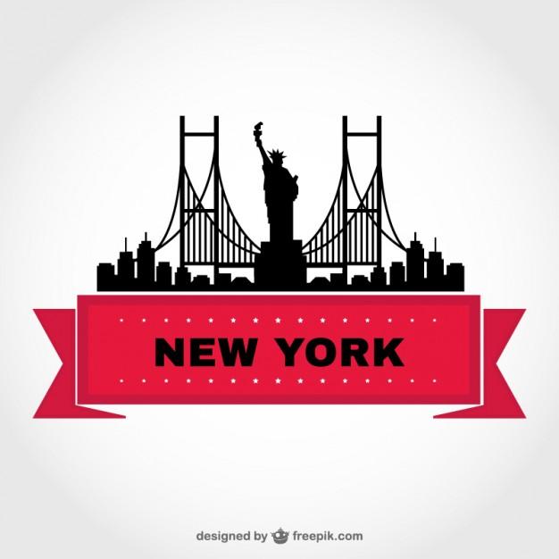 626x626 18 New York City Skyline Clip Art Vectors Download Free Vector