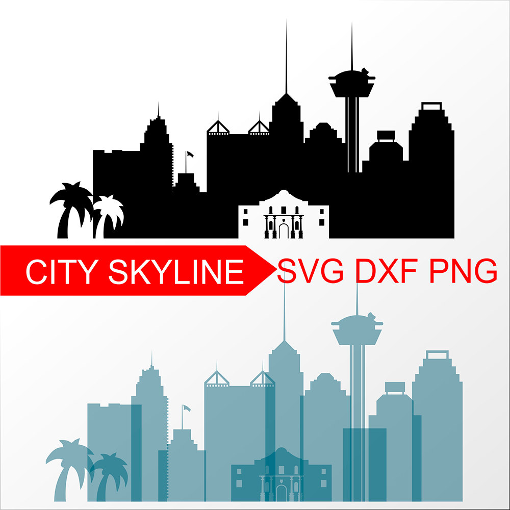 1000x1000 Denver Svg, Denver City Vector Skyline, Denver Silhouette, Svg