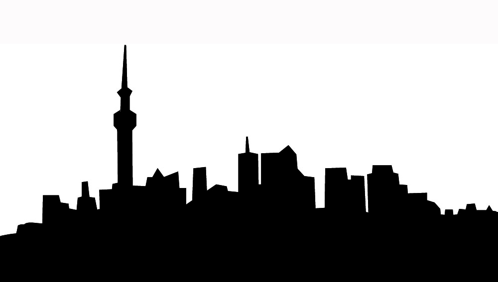 1000x567 City Skyline Clipart Clipartmonk