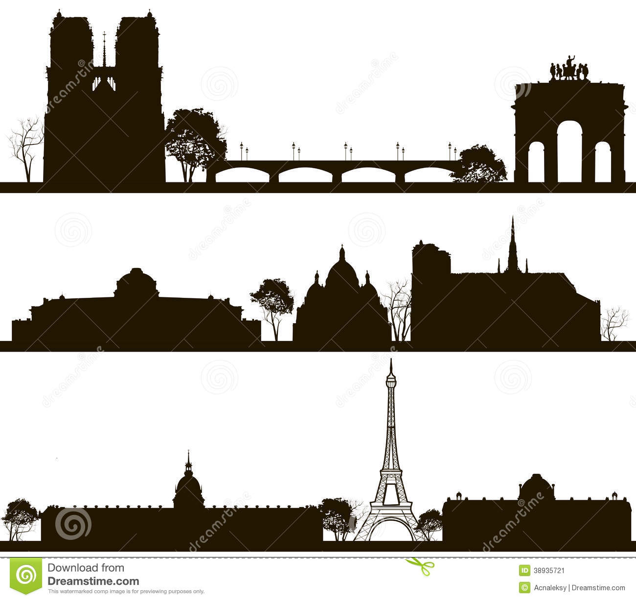 1300x1229 Paris Skyline Clipart