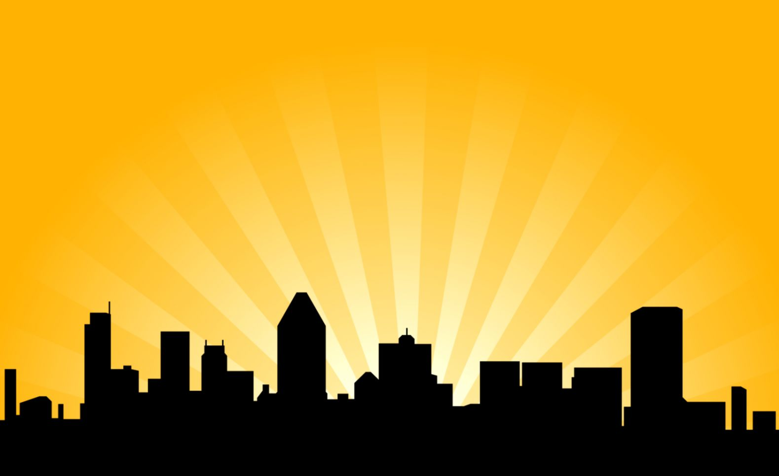 City Skyline Silhouette Clipart | Free download best City Skyline ...