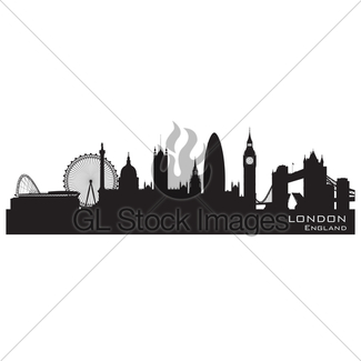325x325 York England City Skyline Detailed Vector Silhouette · GL Stock Images
