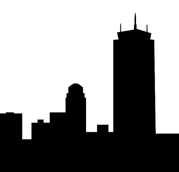 570x548 Boston Skyline Clipart (25+)