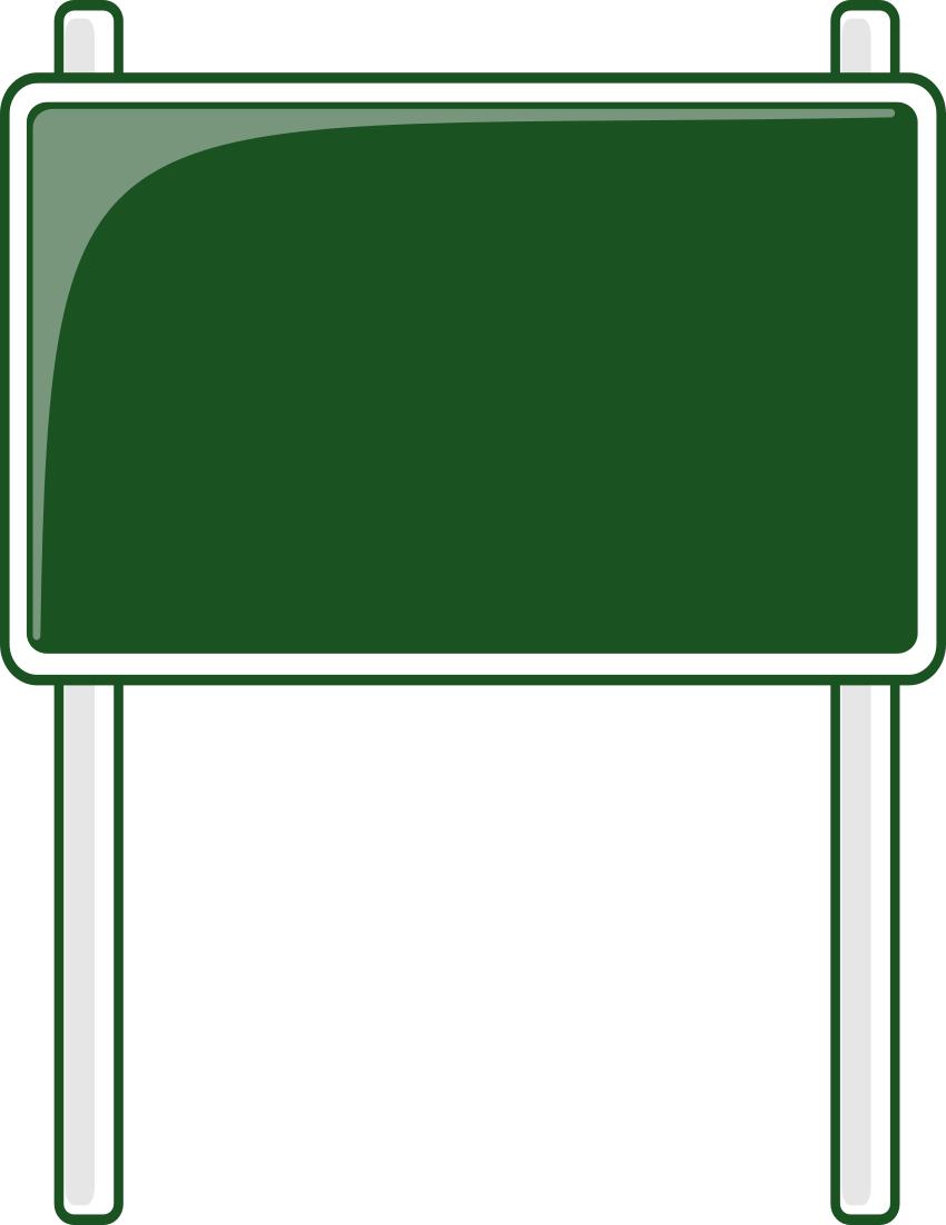 850x1100 Sign Clipart Main Street