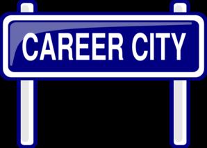 298x213 City Sign Clip Art