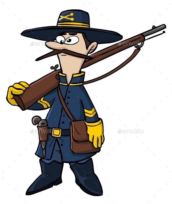 590x700 Civil War Clipart Animated