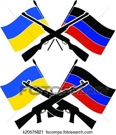 403x470 Clipart Of Ukrainian Civil War K20575821