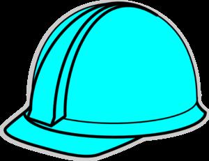 300x231 Turquoise Hard Hat Clip Art