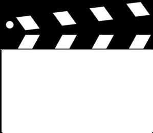 299x261 Clapper Clip Art