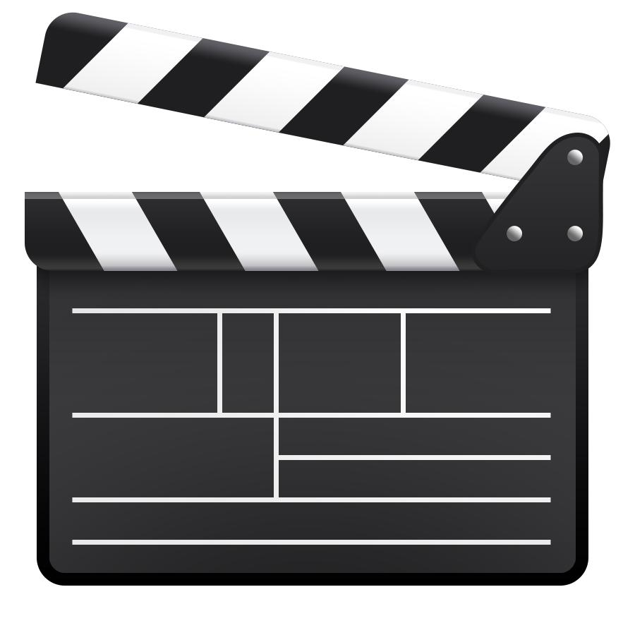 900x900 Hd Psd Clapboard Icon Pictures
