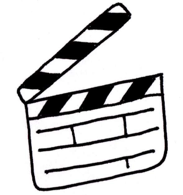 589x627 Image Of Clapboard Clipart