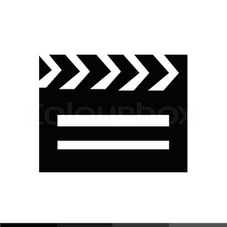 320x320 Camera Clapper Board Stock Vector Colourbox