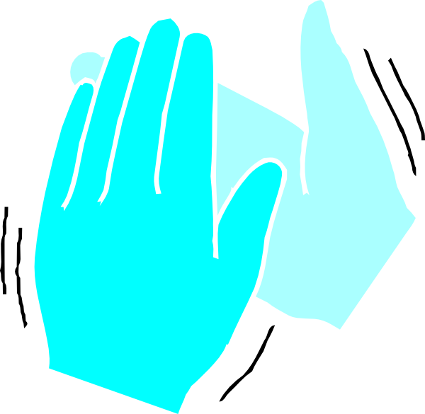 600x585 Clapping Hands Clip Art