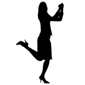 300x300 Woman Clipart Image