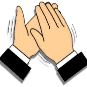 300x300 Applause Clapping Hands Cliparts Free Download Clip Art
