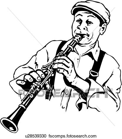 Collection Of Clarinet Clipart