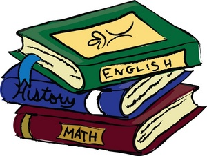 300x226 English Class Book Clip Art Schoolbooks Clipart Image Text Books