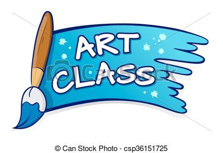450x309 Painting Clipart Art Class