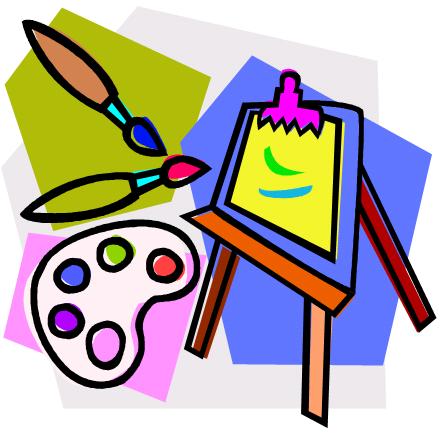 442x434 Art Class Clip Art
