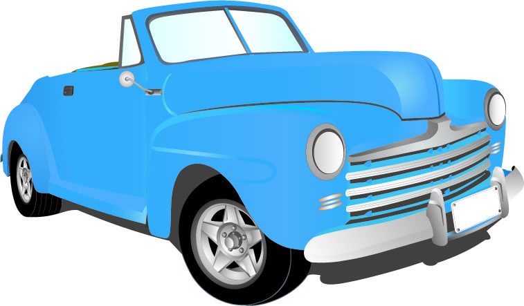 757x443 Clipart Antique Car